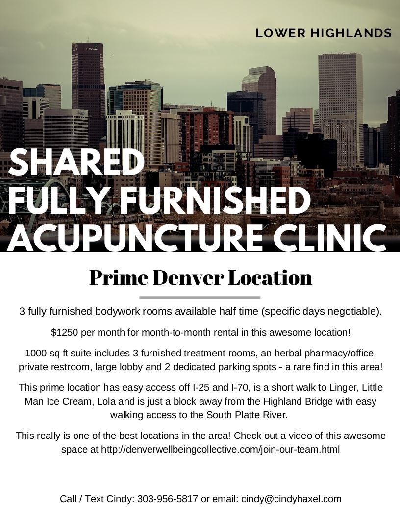 Acupuncture Association of Colorado - Classified Ads